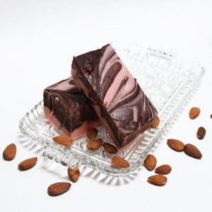 Amaretto Chocolate Swirl Fudge