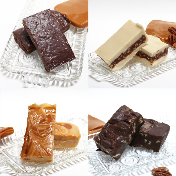 Make Your Own Quartet Fudge Sampler SHIP ONLY - 2 pounds of fudge