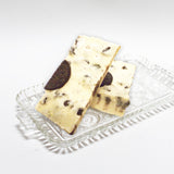 Cookies and Creme Fudge (our rich vanilla fudge loaded with crumbled Oreo cookies)