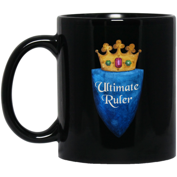 Ultimate Ruler Black Mugs