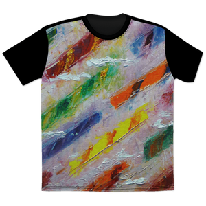 Candy Stick River All Over Print T-Shirt