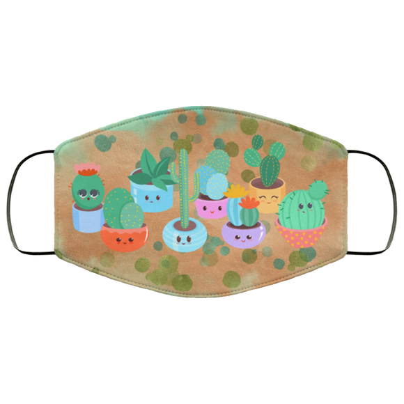 Cute Cactus Face Mask