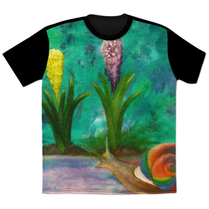 Candy Snail All Over Print T-Shirt