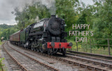 Father's Day Steam Train - Card & Box of Candy