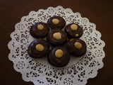 9 pc Turtle Bites - Chocolate Caramel Nut Candy - Assorted Chocolates (Milk and Dark)