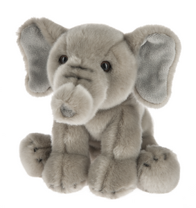 "Plush Elephant, 12"" Stuffed Animal"