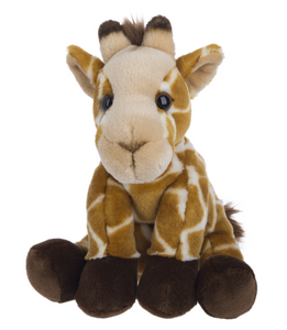 "Plush Giraffe, 12"" Stuffed Animal"