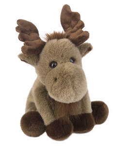 "Plush Moose, 12"" Stuffed Animal"