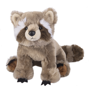"Plush Raccoon, 7.5"" Stuffed Animal"