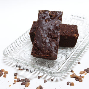 Heath English Toffee Fudge (our chocolate fudge loaded with Heath English Toffee Bits)