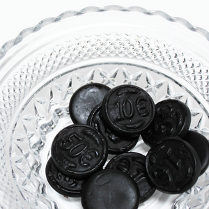 Licorice Coins or Money - 1 pound