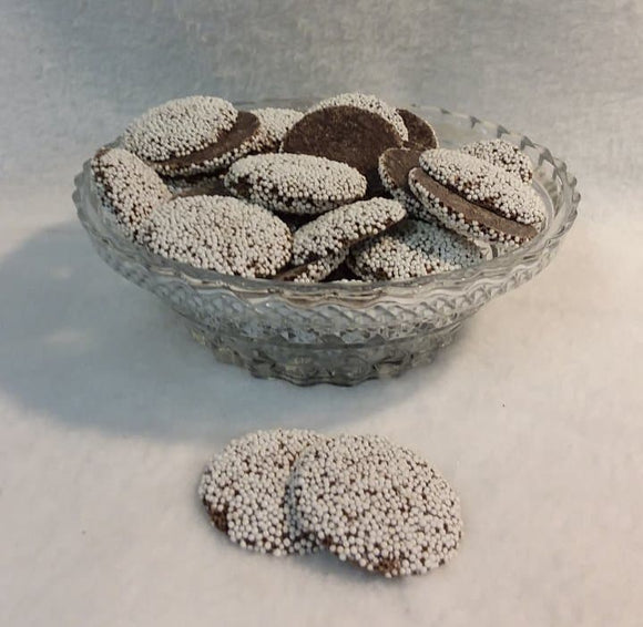 Nonpareils - Milk, Dark or White Chocolate - .75 pounds