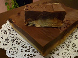 Peanut Butter Lovers Fudge Sampler - 2 pounds of fudge (Peanut Butter, PB Choc, Butterfinger, Tiger Butter)
