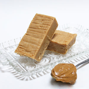 Peanut Butter Fudge - with Tons of Creamy Peanut Butter