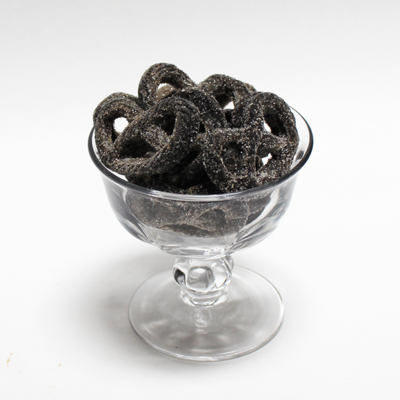 Licorice Jelly Pretzels - 1 pound