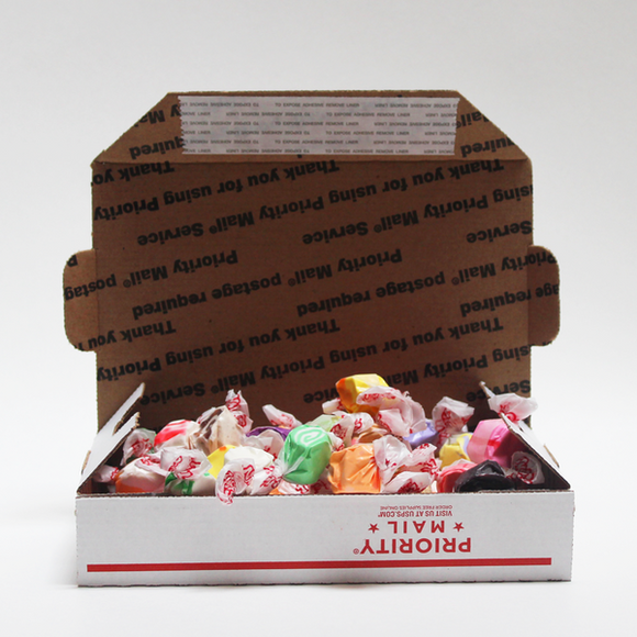 Assorted Old-Fashioned Flavors Salt Water Taffy SHIP ONLY - 1 pound to 4 pounds