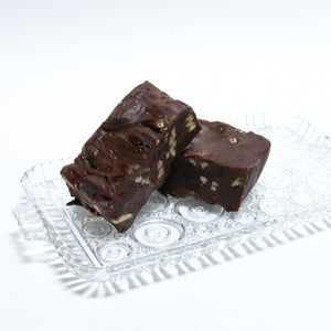 Our Famous Chocolate Walnut Fudge