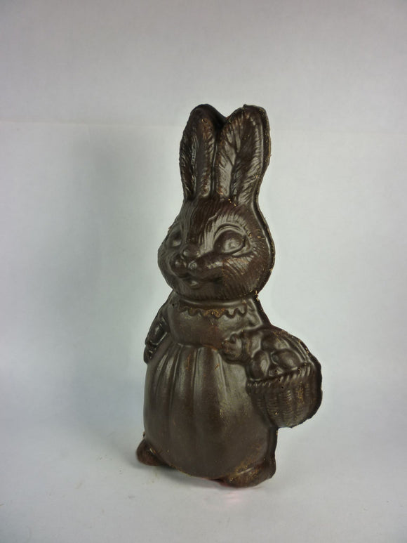 Chocolate Girl Bunny - handmade in Milk, Dark or White Chocolate
