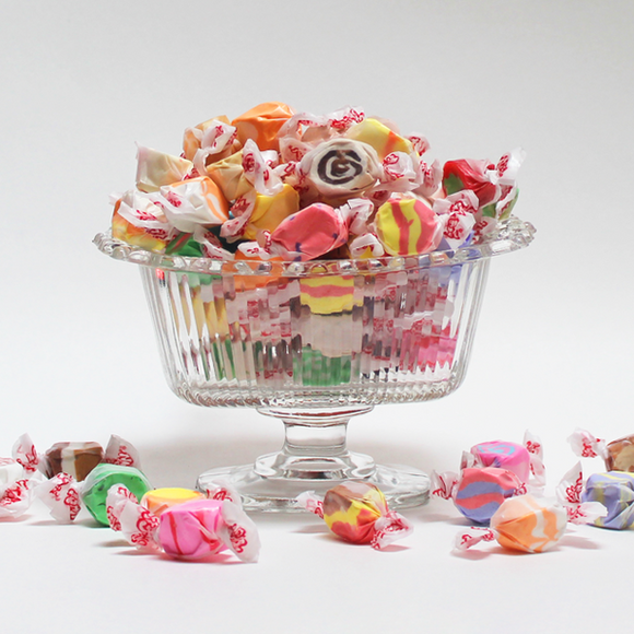 Assorted Old-Fashioned Flavors Salt Water Taffy - 1 pound to 4 pounds