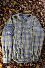 Load image into Gallery viewer, STJ Flannel Light Yellow/Grey Size L