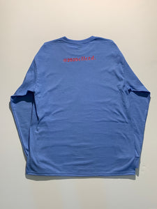 Mindset Long Sleeve size L light blue/red