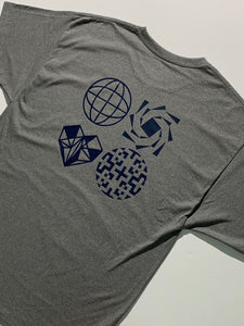 Geometric Collected Tee size XL