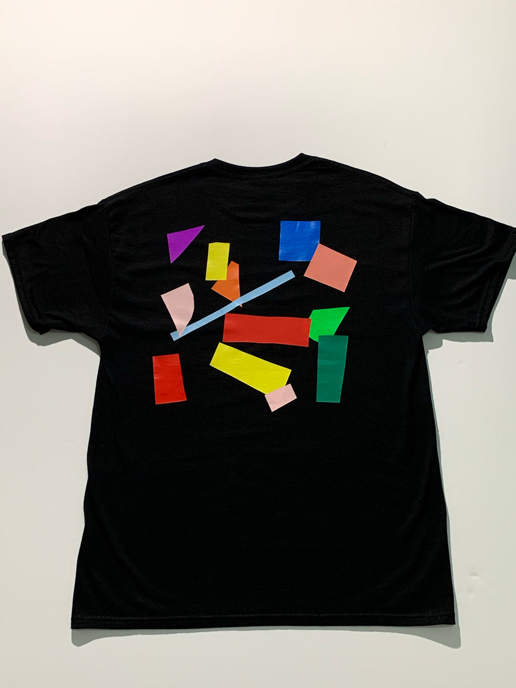 Collage Tee size L multicolor