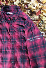 Load image into Gallery viewer, STJ Flannel Red/Black Size XXL
