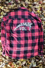 Load image into Gallery viewer, STJ Flannel Red/Black Checkered Size M