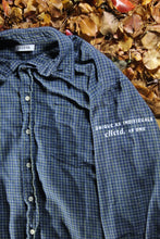 Load image into Gallery viewer, STJ Flannel Blue/Yellow Size XL