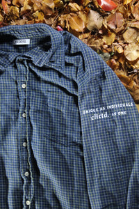 STJ Flannel Blue/Yellow Size XL