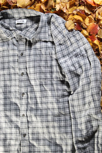 STJ Flannel Grey/Black/White Size XL