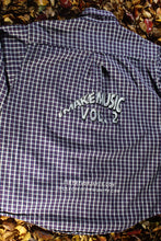 Load image into Gallery viewer, STJ Flannel White/Purple Size XXL