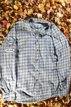 Load image into Gallery viewer, STJ Flannel Grey/Black/White Size XL