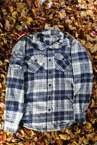 STJ Flannel Navy/White Size M
