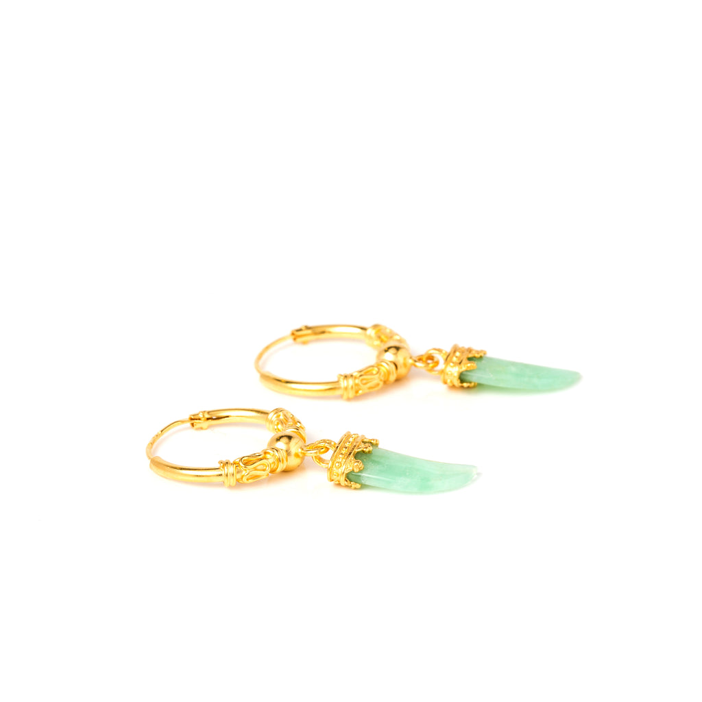 Bloom - Green chrysoprase.