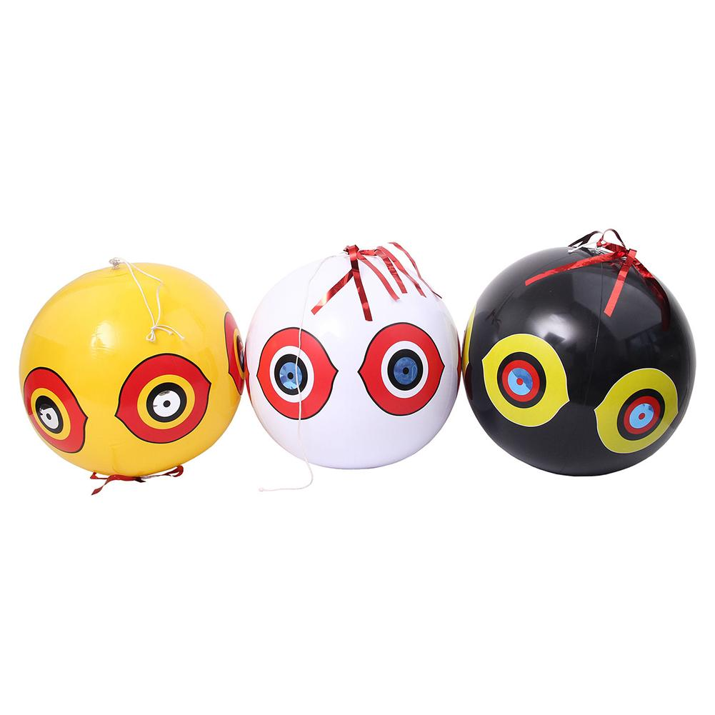 Bird Repellent Scare Eye Balloons Stops Pest Bird Problems Fast Reliable Visual Deterrent Birds Nets Repeller
