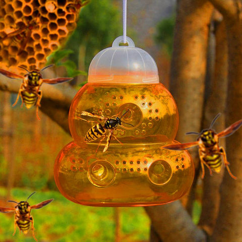 Bumblebee Killing Gourd-shaped Bee-keepers Insect Cages Easy Entrance No Escape Physical Destruction Swarm Catcher Insect Cage