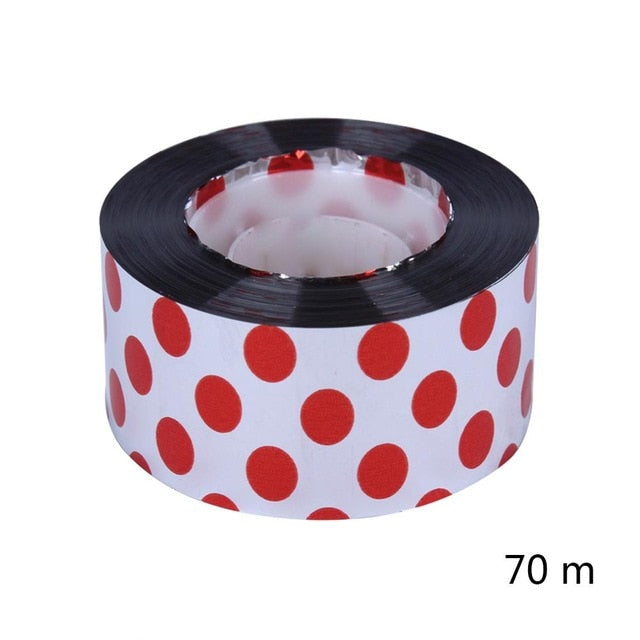 Dot Reflective Bird Scare Ribbon Anti Bird Tape Belt Small Animals  Repeller Tapes Garden Orchard Pest Control