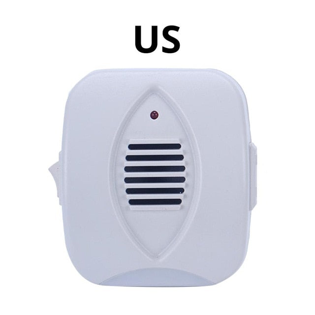 Mouse repeller electronic mosquito repellent ultrasonic insect killer Mouse/Rodent Repeller Deterrent  with LED night light