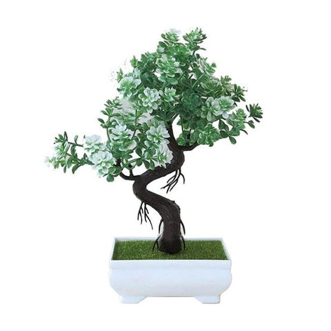Potted Plants Desktop Fake Plant Small Accessory Green Bonsai Green Plant Flower Decoration