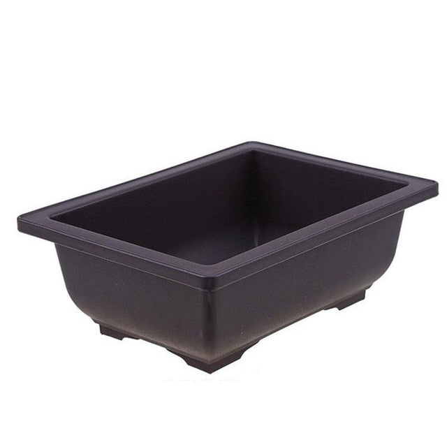 Simulated Purple Sand Plastic Succulent Plant Flowerpot Bonsai Flower Pot
