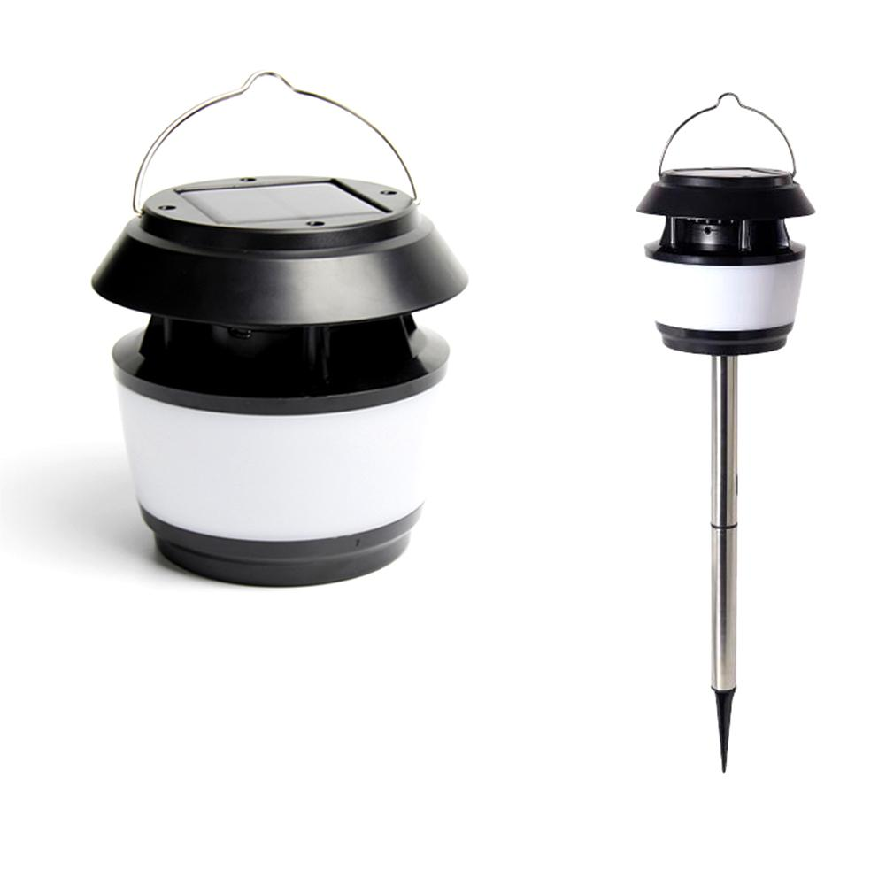 Solar Garden  LED Light With Mosquito Repellent Ultrasonic Mosquito Repellent Lights LED Pin Lamp