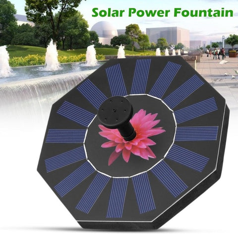 Solar Water Pump Floating Panel Pool Solar Power Fountain Garden Landscape Garden Pond Watering Kit