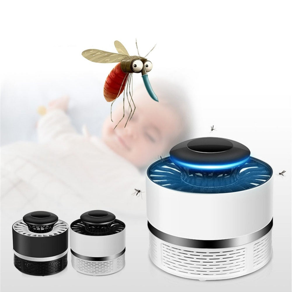 USB Mosquito Killer Repeller Lamp Radiationless Photocatalysis Household Mute Safety Anti Mosquito Dispeller Insect Killer