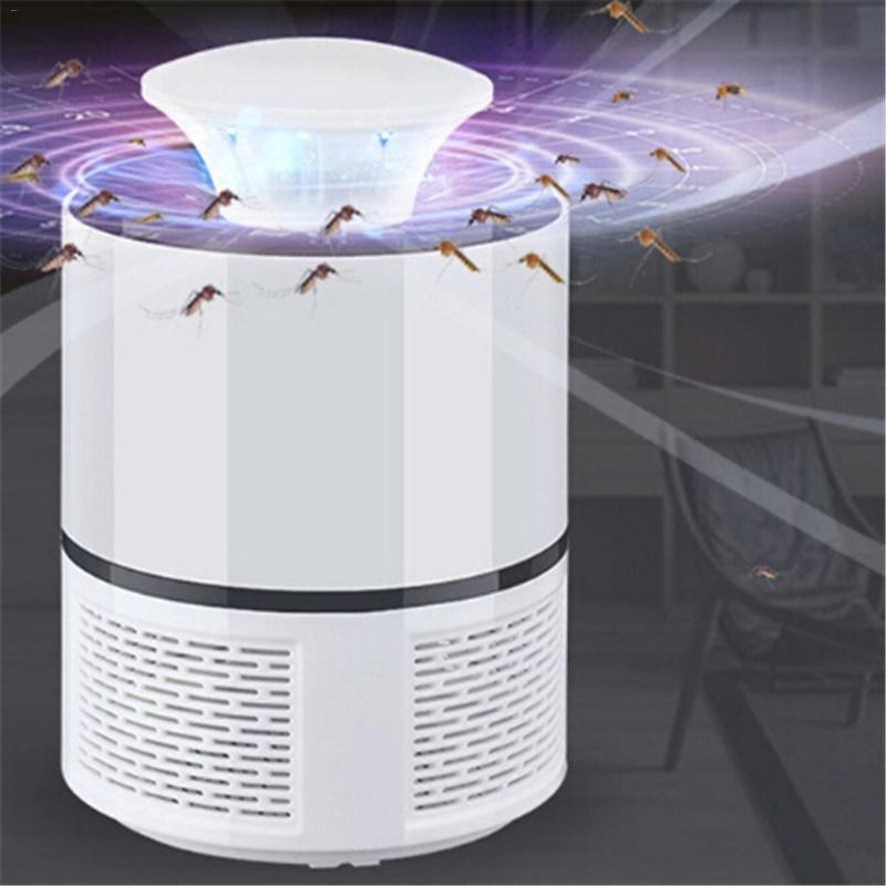 USB Photocatalyst Mosquito killer lamp Mosquito Repellent Bug Insect Trap light UV Light Killing Trap Lamp Fly Repeller