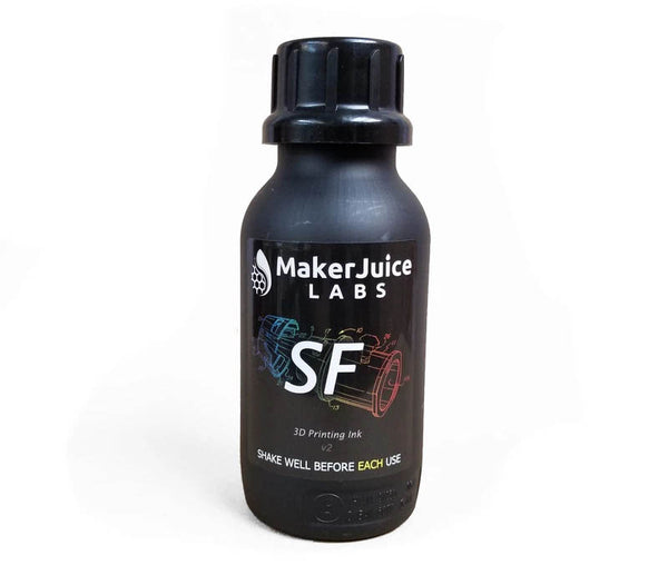 MakerJuice SF for the Form 1+/2 - 3D Printing Resin (1L)