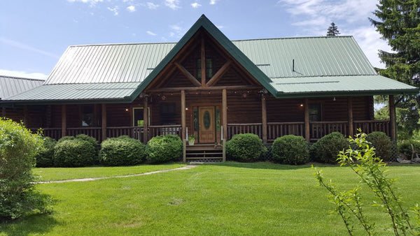 lodge on pine ridge