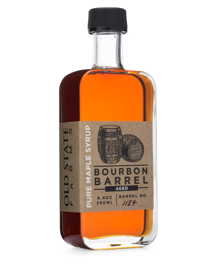 runamuck bourbon barrel aged maple syrup