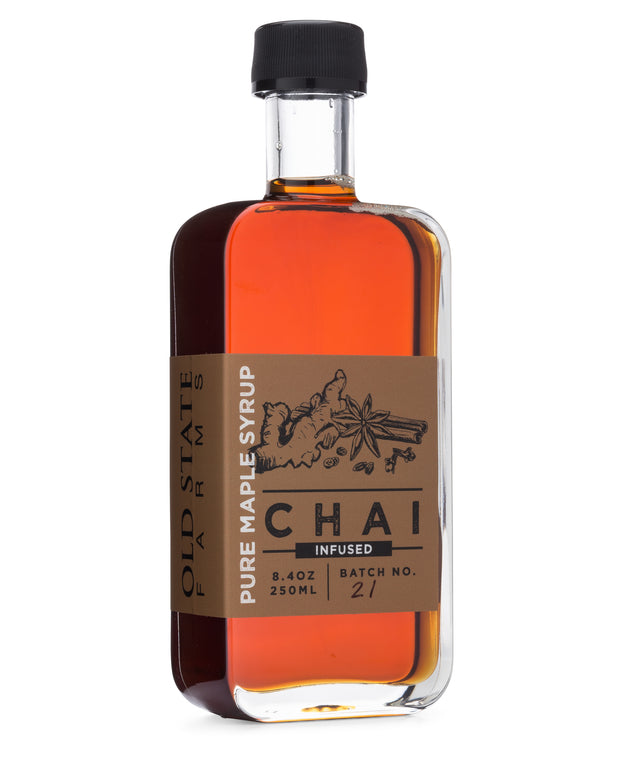 Chai Infused Pure Maple Syrup 1